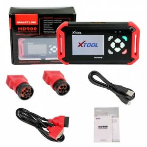 Original Xtool Hd900 Heavy Duty Truck Obdii Code Reader Auto Diagnostic Scanner