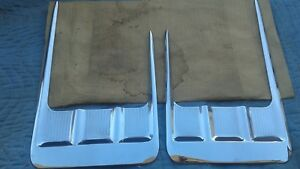1958 Chevrolet Impala Nos Pitch Fork Moldings Beautiful Original Condition