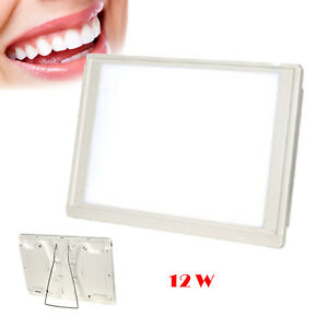 Dental X ray Film Viewer Illuminator A4 one side Light Box Panel Full View Ce
