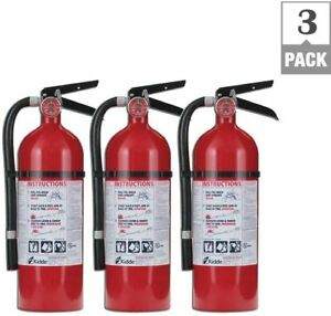 New Kidde Rechargeable Fire Extinguishers bundle Of 3 Pro 210