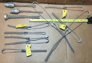 12 Kellems Wire Grip Puller Lot