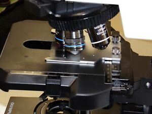 Olympus Bx 50 Dual Viewing Microscope
