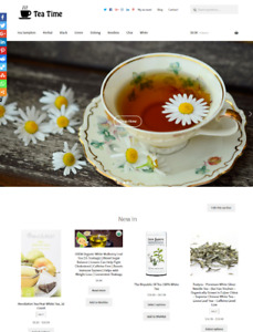 Tea Affiliate Website Business