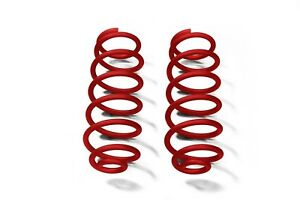 Red Baron Rear Coil Springs For Jeep Wrangler Jk 07 18 With 4 Lift Steinjager