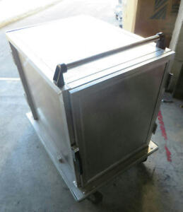 Generic Two Door Catering Food Service Food Tray Transport Cart 38 5x28 5x41