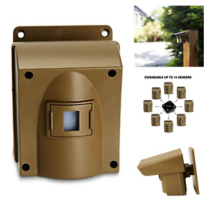 Guardline Wireless Alarm Motion Detector Sensors Driveway Outdoor Extra Sensor