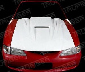 94 98 Ford Mustang Trufiber Spyder Body Kit Hood Tf10022 A14