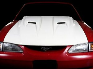 94 98 Ford Mustang Trufiber Mach 2 Body Kit Hood Tf10022 A38