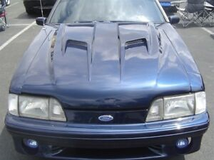 87 93 Ford Mustang Trufiber Mach 2 Body Kit Hood Tf10021 A38