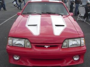 87 93 Ford Mustang Trufiber Mach 1 Body Kit Hood Tf10021 A29