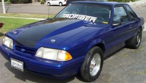 87 93 Ford Mustang Trufiber 3 Cowl Body Kit Hood Tf10021 A49 3