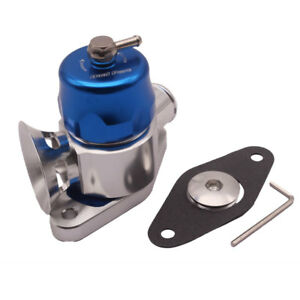 Blue Dual Port Blow Off Valve Bov For Subaru Legacy Liberty Gt Wrx 08 15
