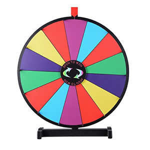 Winspin 24 Tabletop Spinning Prize Wheel 14 Slots With Color Dry Erase Trade