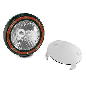 7 In Round Hid Offroad Light Blk Composite Housing