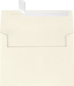A7 Invitation Envelopes W peel Press 5 1 4 X 7 1 4 Natural Linen 250 Qty