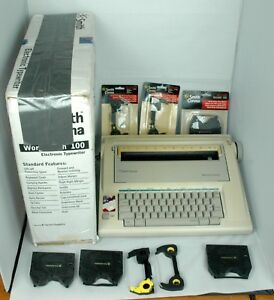 Smith Corona Wordsmith 100 Electronic Typewriter Ribbons Working Original Box