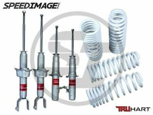Truhart Sport Shocks And Lowering Springs Set For Honda Accord 1998 2002
