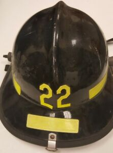 Firefighter Bunker Turn Out Gear Cairns N660c 660c Black Helmet Reflector H140