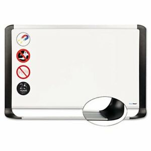Mastervision Porcelain Magnetic Dry Erase Board 24x36 bvcmvi030401
