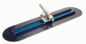 Kraft Tool 60 Big D Blue Bull Float And Ezy tilt Bracket For Concrete Finishing