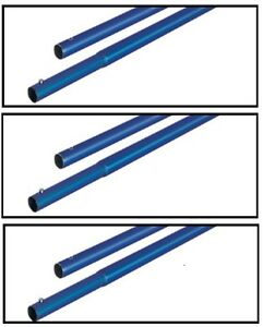 6 Bull Float Pole Handles Kraft Tool Aluminum 4 X 1 3 4 For Concrete Finishing