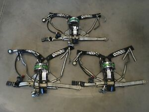 Msa 4500 Psi Scba Firefighter Air Pac Pack Harness