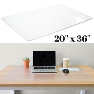 Large Desk Pad Cover Office Furniture Protector Scratch Mat Table Clear Non Slip