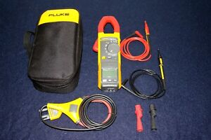 Fluke 381 Remote Display Trms Clamp Meter W Iflex Band Case And Leads