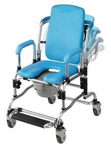 Laguna Reclining Bath Shower Chair With Padded Seat Back Armrests