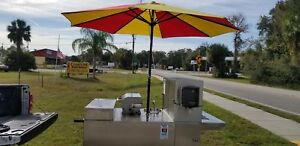 Mobile Hotdog Cart Catering Cart Mobile Kitchen