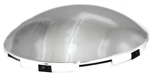 Gg Front Hub Caps 5 Even Notches Dome Chrome Steel Wheel 7 16 Lip 10514 Each