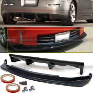 For 06 09 350z Unpainted Ns N Style Front Rear Bumper Lip Diffuser Body Kit