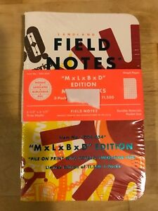 Field Notes Mlbd mondo Landland Burlesque Ddc Limited 11 500 Hand Numbered