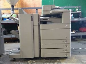 Canon Imagerunner Advance C5255 Color Copier printer scanner fax W finisher