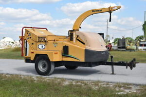 2007 Vermeer Bc1500xl 15 4 5l John Deere Turbo Diesel Wood Chipper 1381 Hours