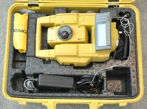 Topcon Gpt 8201a Total Station Reflectorless Dual Gpt 8201a