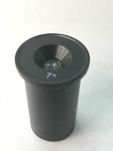 Eyepiece 7x Measuring Lomo Ussr For A Microscope zeiss