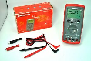 Snap On Tools Eedm604c Digital Multimeter True Rms Dmm Hybrid Eedm604e