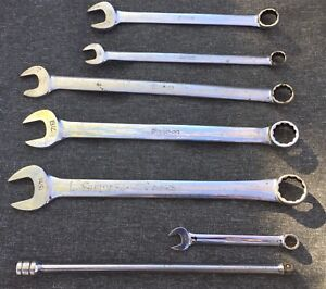 7 Snap on Wrench Tool Mix Lot Extension Socket Bar Oex Oexl