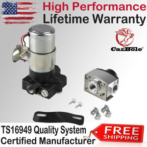High Performance Electric Fuel Pump 105gph 14psi High Volume Transfer 12 Volt Us