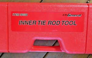 Inner Tie Rod Wrench Tool 7 Cross Style Adapters Sae Metric