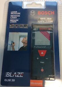 Bosch Professional Glm 30 100ft 30m Laser Measure