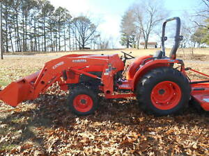 L4701d Kubota 4wd Tractor loader low Hours