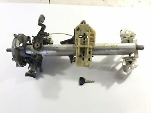 97 2000 Jeep Wrangler Column Steering W Key Manual With Tilt 52078619 Tj Oem F