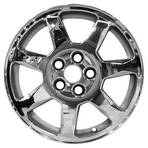 Chrome Plated 7 Spoke 17x7 5 Factory Wheel 2001 2004 Cadillac Seville