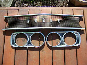 1968 Dodge Coronet Grill Oem 440 Super Bee Rt 1969 Charger 500