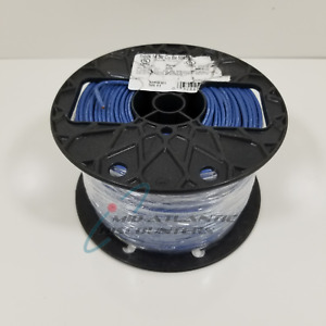 Southwire 14 Awg Copper Machine Tool Wire Blue Stranded Thhn thwn 500ft