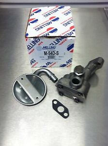 1959 1981 Pontiac 326 350 389 400 455 Engine Oil Pump With Screen Melling M54d s