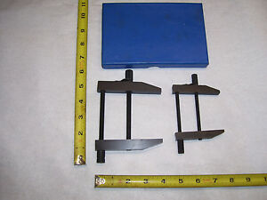 Parallel Clamps 2 Machinist Tool Maker Parallel Clamps Open