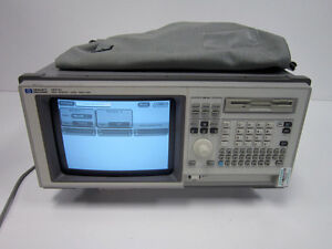 Hp Agilent 1671d Logic Analyzer 100 Mhz State 030 With Cables